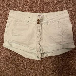 Light blue express shorts